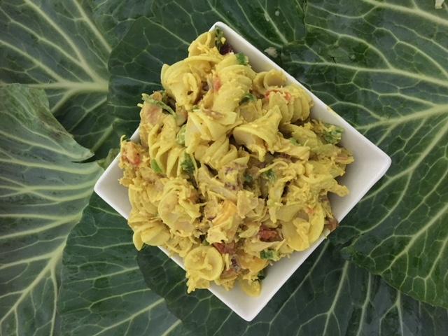 Chicken Mango Pasta Salad